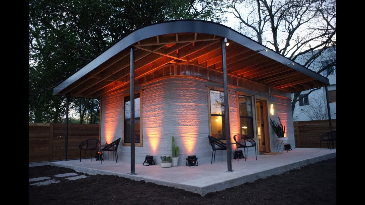 New Story + ICON : 3D Printed Homes for the Developing World