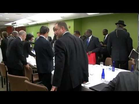 Oxfam America Hosts Private NGO Gathering with Prime Minister of Haiti