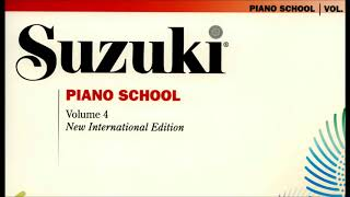 Suzuki Piano School - Livro 4- New International Edition