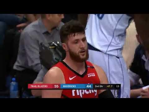 Jusuf Nurkic 18 points Highlights vs. Dallas Mavericks