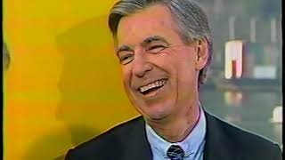 Fred Rogers and Willie Stargell on Today Show in Pittsburgh 1987
