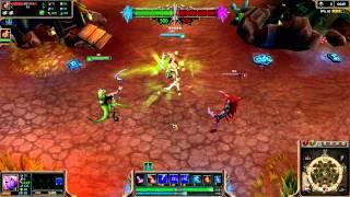 Dryad Soraka (2014 Update) Skin Spotlight League of Legends