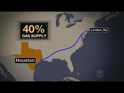 Pipeline spill spikes gas prices in the South