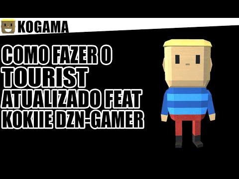 Tutorial KoGaMa : Como Criar Tourist Atualizado Feat : Kokiie DzN-Gamer