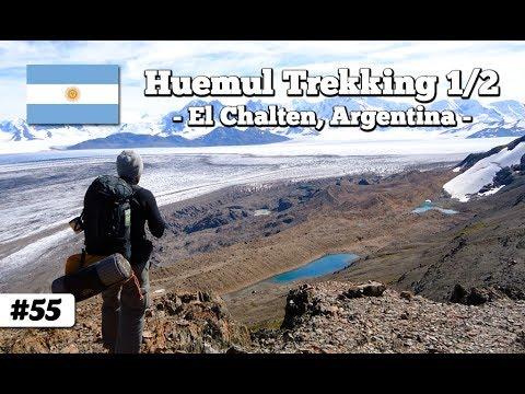 Trekking the Huemul circuit El Chaltén, Argentina part 1/2 (travel documentary 055)