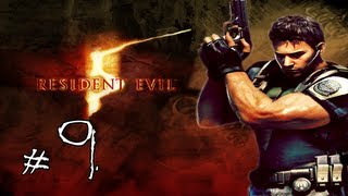 Resident Evil 5 Walkthrough / Gameplay with LazyCanuckk Part 9 - Darkness Falls