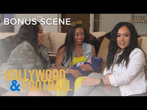 Rams Wives Visit Bianca and Cory's Newborn Baby | Hollywood & Football | E!