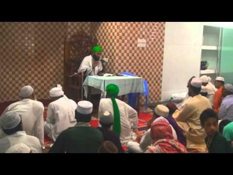 sunni waz @ Hazrat Muhammad Mustafa Masjid & Madrasa