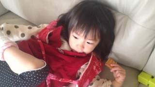 [Short]My daughter, Japanese little girl is cute in the morning!