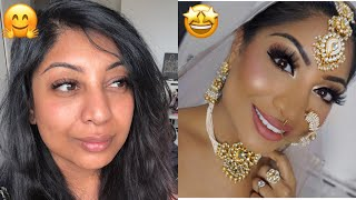 DETAILED ASIAN BRIDAL MAKEUP TUTORIAL!