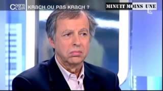 Economie : Krach dette  immobilier  ... l or _ Bernard Maris et  Nicolas  Bouzou