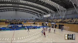 2018IH 女子ハンドボール 2回戦 暁(三重県) 対 鹿児島南(鹿児島県)