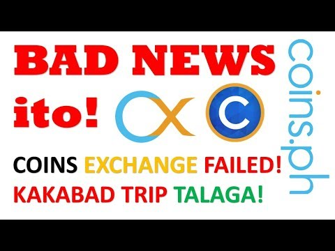 BAD NEWS! | How to Sell BTC on Coins.Ph Exchange Asia Failed | Bad Trip Talaga | Dad's Tricks