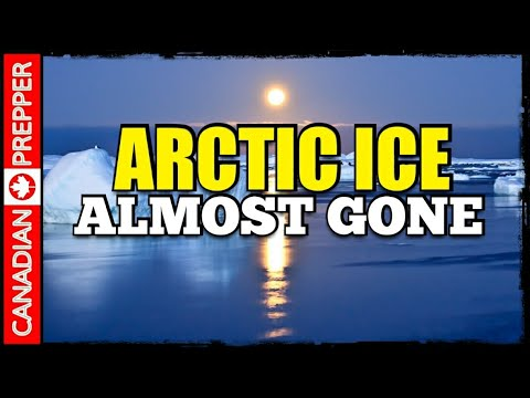 ASTONISHING Arctic Sea Ice Melt 2018