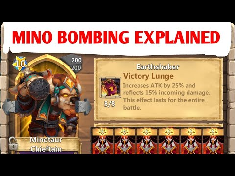 IS YOUR ACCOUNT READY TO MINO BOMB - DETAILED BREAKDOWN - CASTLE CLASH