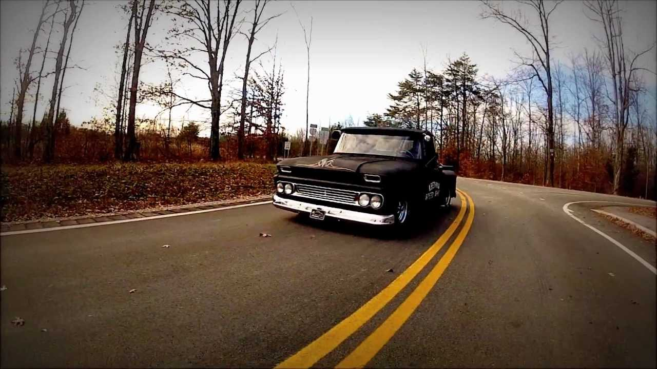 "Pro Touring C10 >> 1963 Lowered Hot Rod Chevy Pickup Truck, Slammed ""Next of Kin"" - YouTube"