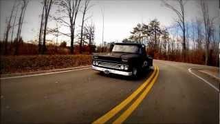 "1963 Lowered Hot Rod Chevy Pickup Truck, Slammed ""Next of Kin"""