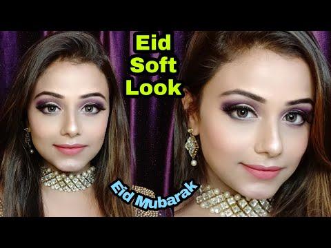 soft-eid-makeup-2019-/-guest-makeup-||-neha-beauty-hub