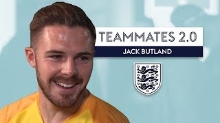 Who does Butland think is the best player in the England squad?! | Jack Butland | Teammates 2.0