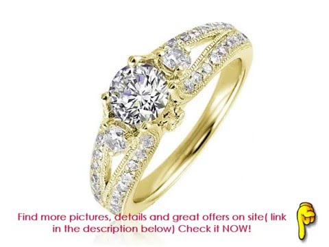 Vintage Engagement Rings - Antique engagement rings - Beautiful diamonds that will make her your!