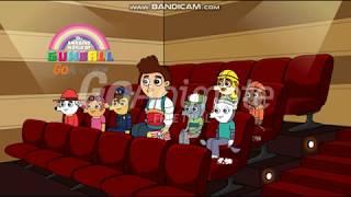 Paw Patrol episodio 4 los cachorro reparan el tren y van al cine