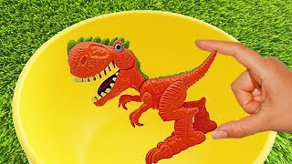 Educational Video-Learn Names of Dinosaurs, Sea Animals, Farm Animals and Zoo Animals, Learn Colors