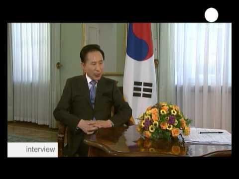 interview - Lee Myung-bak, presidente de Corea del Sur