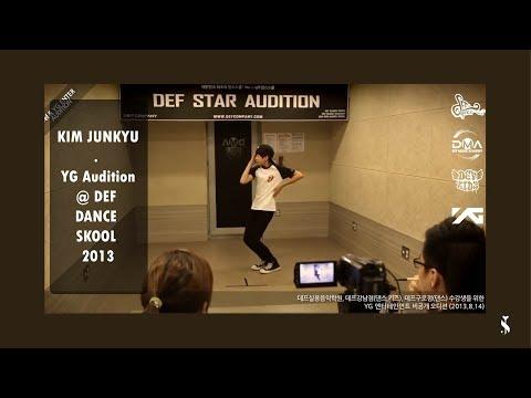 KIM JUNKYU - YG Audition @ DEF DANCE SKOOL 2013
