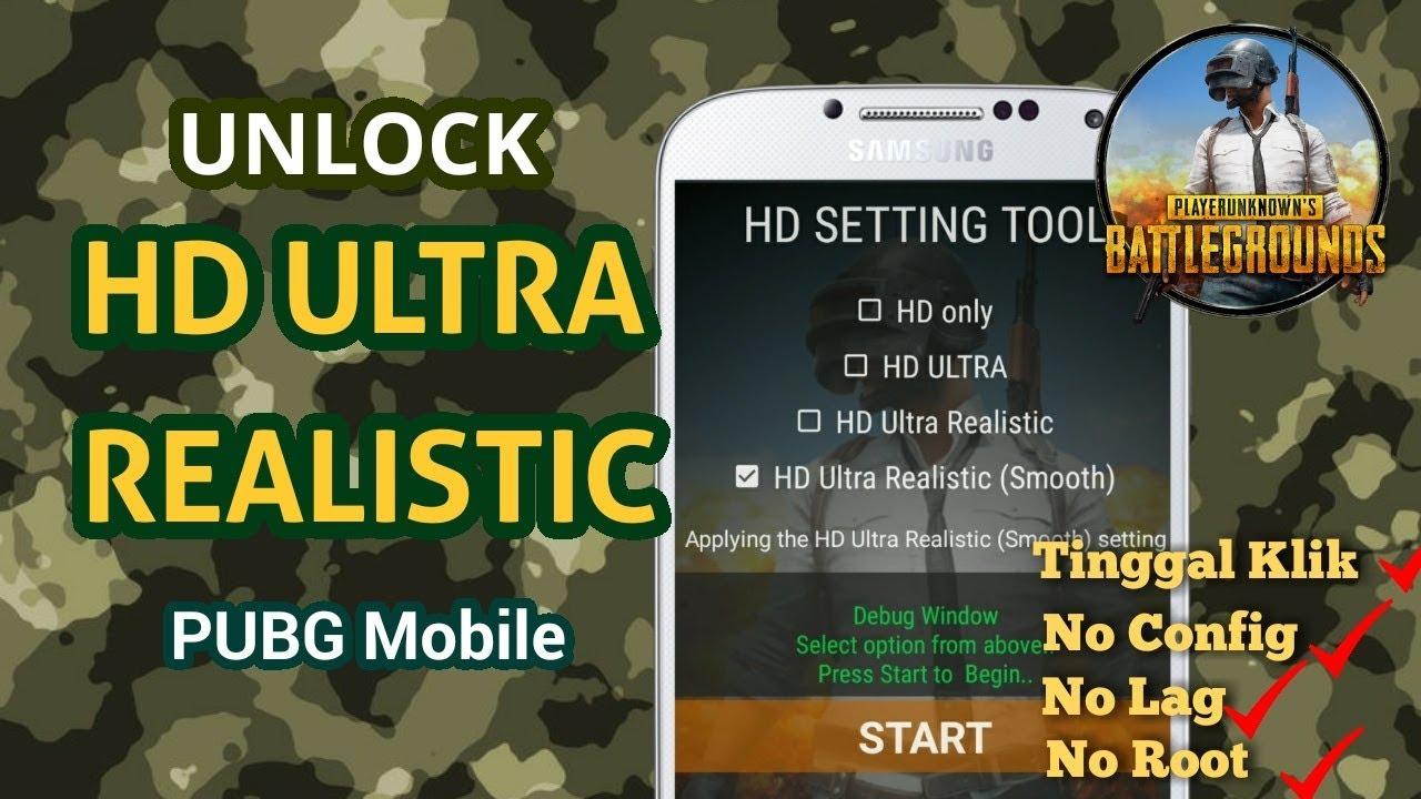 Tinggal Klik!! Cara Unlock Mode High Ultra Realistic PUBG