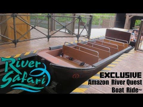 [EXCLUSIVE] Ride On River Safari Amazon River Quest!