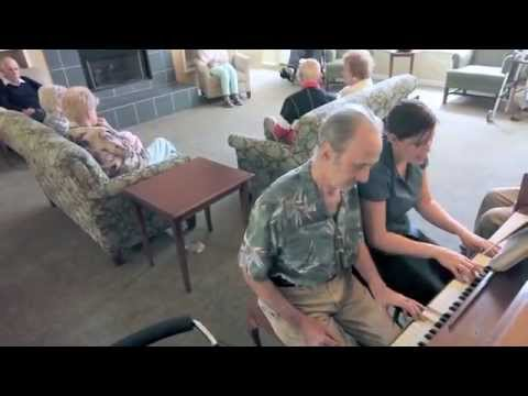 Music Therapy In Larry S Life Youtube
