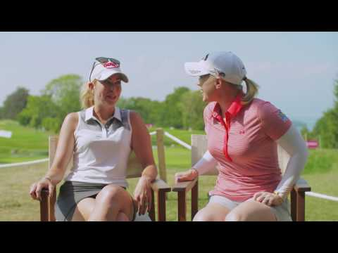 Get to know Paula Creamer and Morgan Pressel