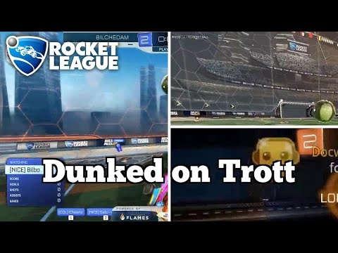 Daily Rocket League Plays: Dunked on Trott thumbnail