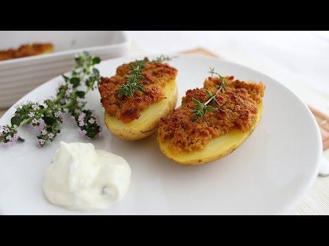 Kartoffeln mit Parmesan-Senfkruste