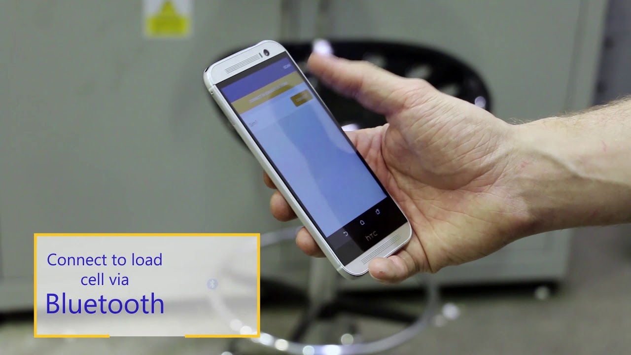 Bluetooth Load Cell - HHP App - Straightpoint