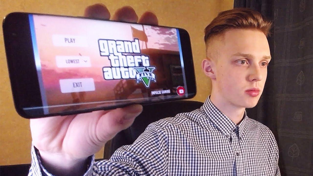 4305020c1b6d Как установить GTA 5 на телефон? (+Ссылка Скачать) - YouTube