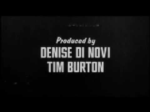 ED WOOD. Main titles
