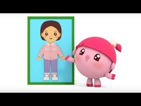 Малышарики - Варежка  - серия 136 - Обучающие мультфильмы для малышей - про одежду