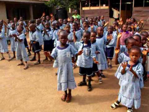 Nigerian school children singing youtube Fashion and style school in nigeria