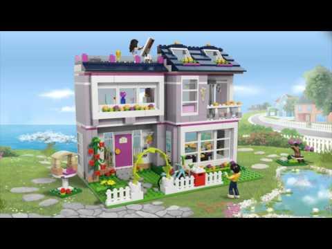 Frisk LEGO Friends 41095 Emmas Hus - YouTube WC-32
