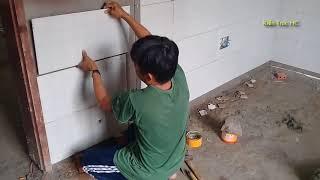 Nhà Cấp 4 Xem Ốp Gạch Chân Tường Sạch Đẹp Kiểu Nhà Quê (TC)