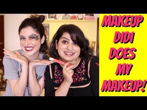 Makeup Didi Does My Makeup!!! ( Feat. Mallika Dua)