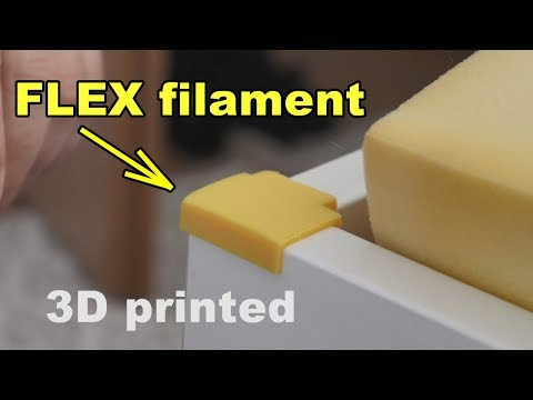 3D Printed Baby Safety Corner Protector Using Flex Filament
