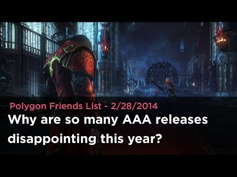 Why are so many AAA releases disappointing this year?