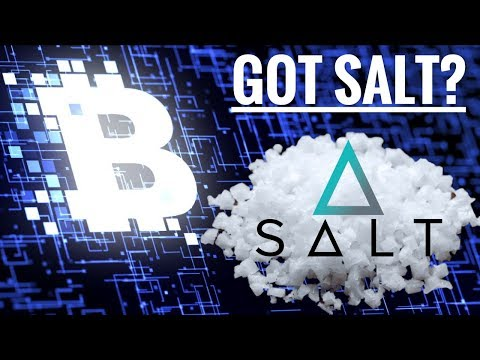 Got SALT? Crypto Lending Token