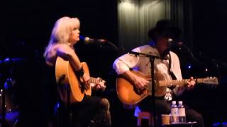 Emmylou Harris & Rodney Crowell - The Angels Rejoiced Last Night - live Hamburg 2013-05-31