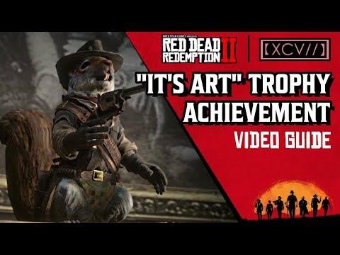 Red Dead Redemption 2 It's Art Trophy Guide | AGOXEN