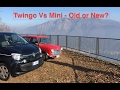 Renault Twingo Vs Austin Mini Road Test - New against Classic!