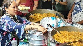 Hard Working Famous Lady Selling Mouthwatering Momos & Pasta ||  K.B.M Momos & Pasta