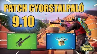 Hot spots and old New Sniper | 9.10 Patch Guide [Fortnite]